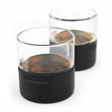 Rabbit freezable whisky glasses, 2 pcs