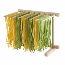 Collapsible pastadrying rack