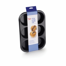 Baking Jumbo Muffin Tin 6 Cup N/S