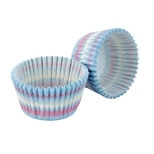 Cupcake Cases blue icing