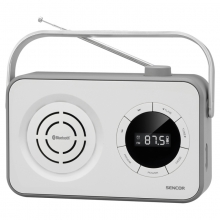 Portabel FM Radio med Bluetooth och Micro SD