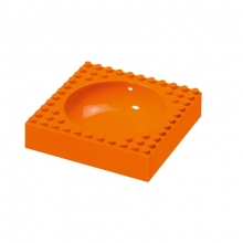 Kids bowl orange