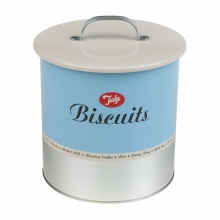 1960's Biscuit Barrell Storage style