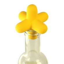 Bottle stopper  - yellow