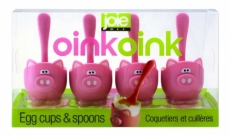 Piggy Wiggy Oink Oink Cup & Spoon
